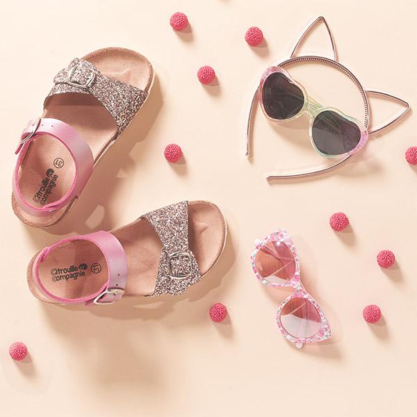 Tyttöjen sandaalit